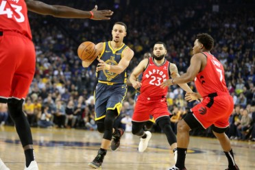 Toronto Raptors vs Golden State Warriors